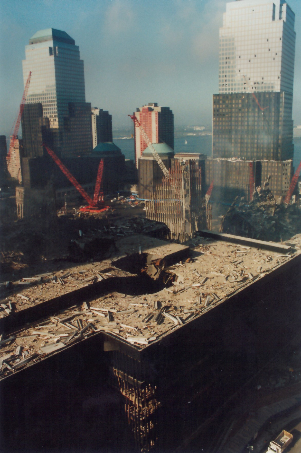 View of WTC from Church St.
