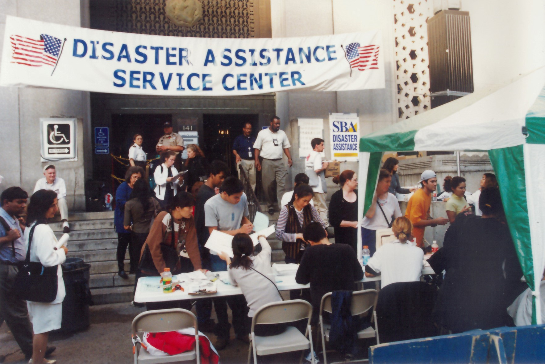 Legal Aid Society offering legal services after 9/11