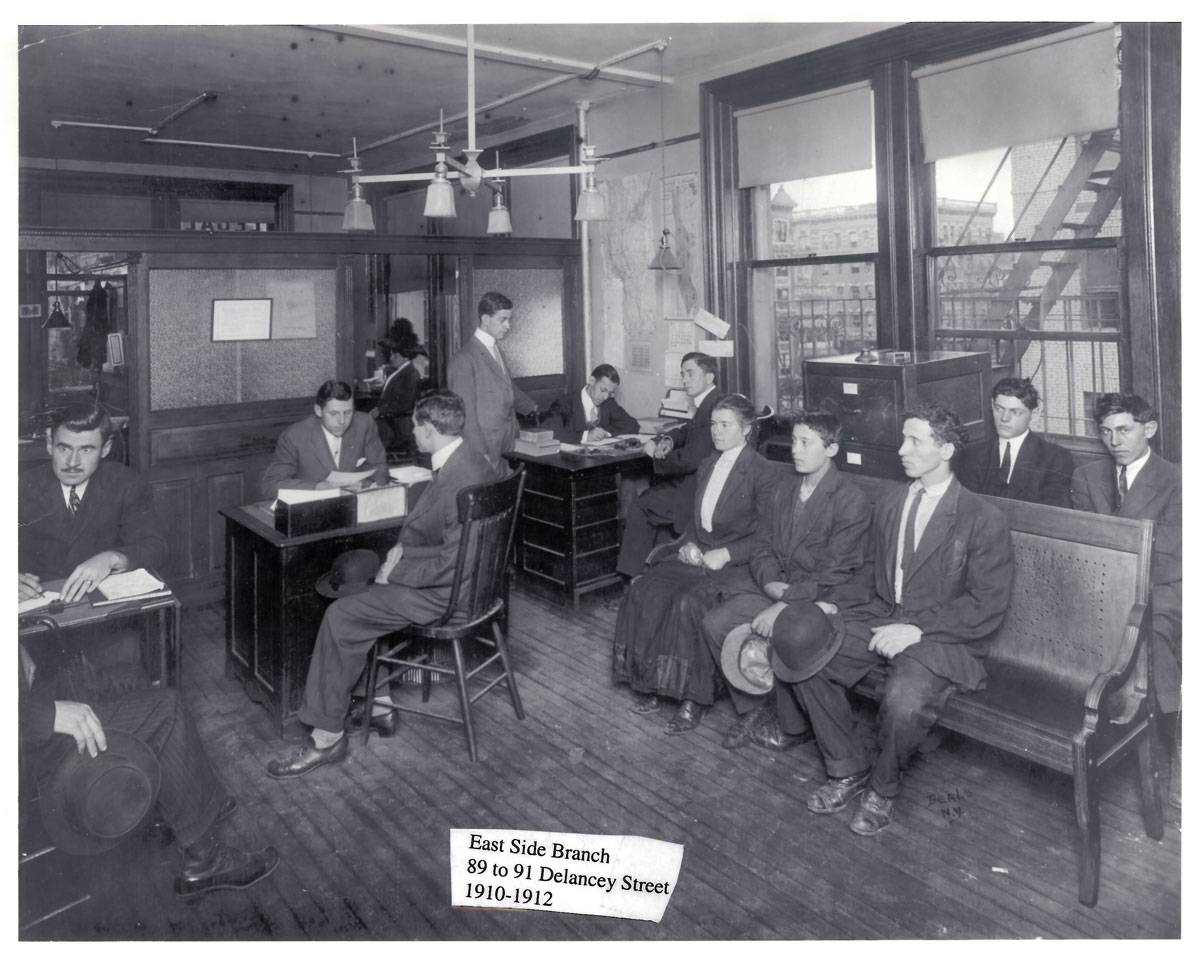 East Side Branch, 89 to 91 Delancey Street