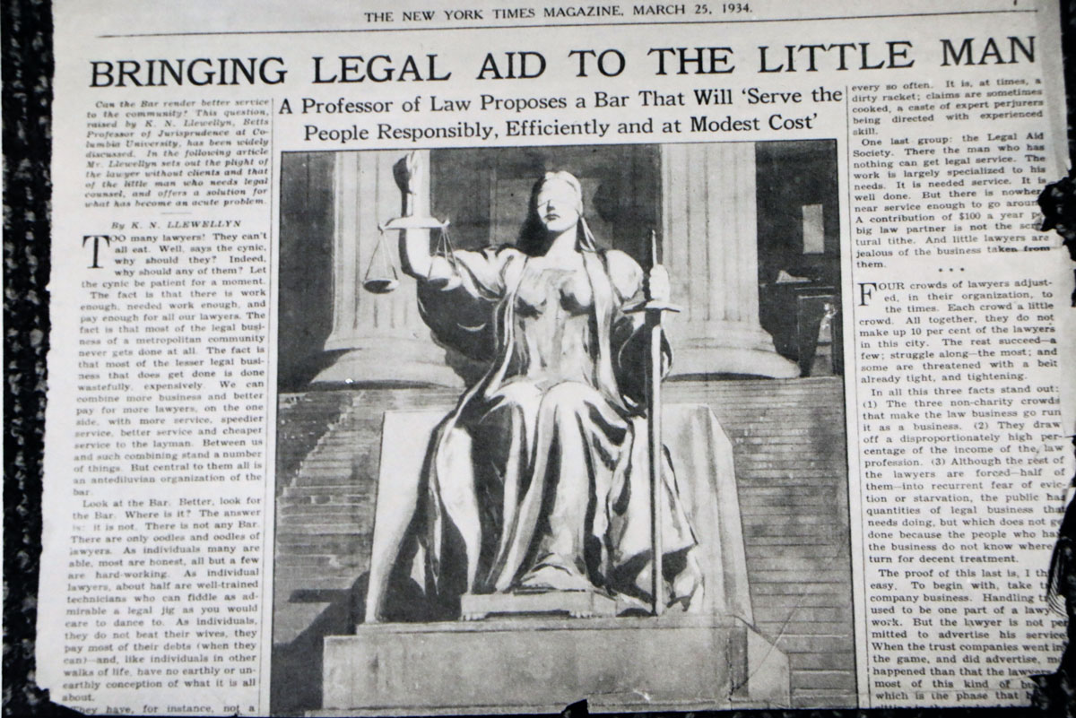 Bringing Legal Aid to the Little Man