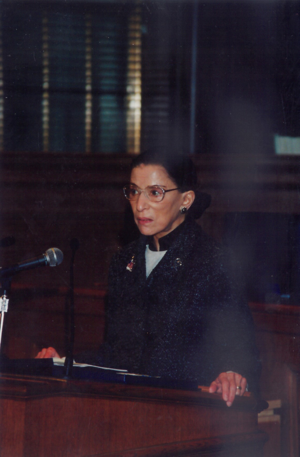 Ruth Bader Ginsberg speaks at The Legal Aid Society