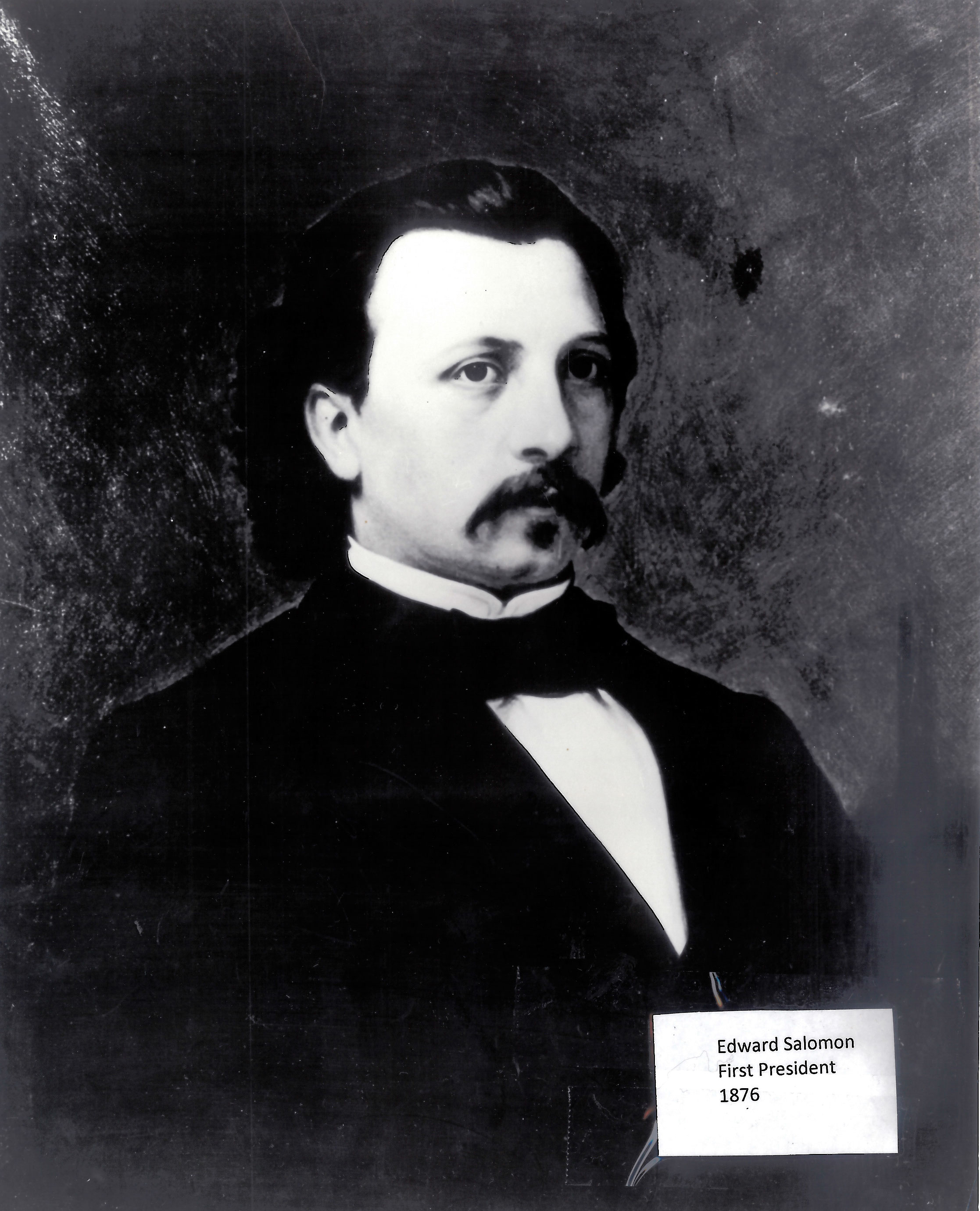 Edward Solomon, First President