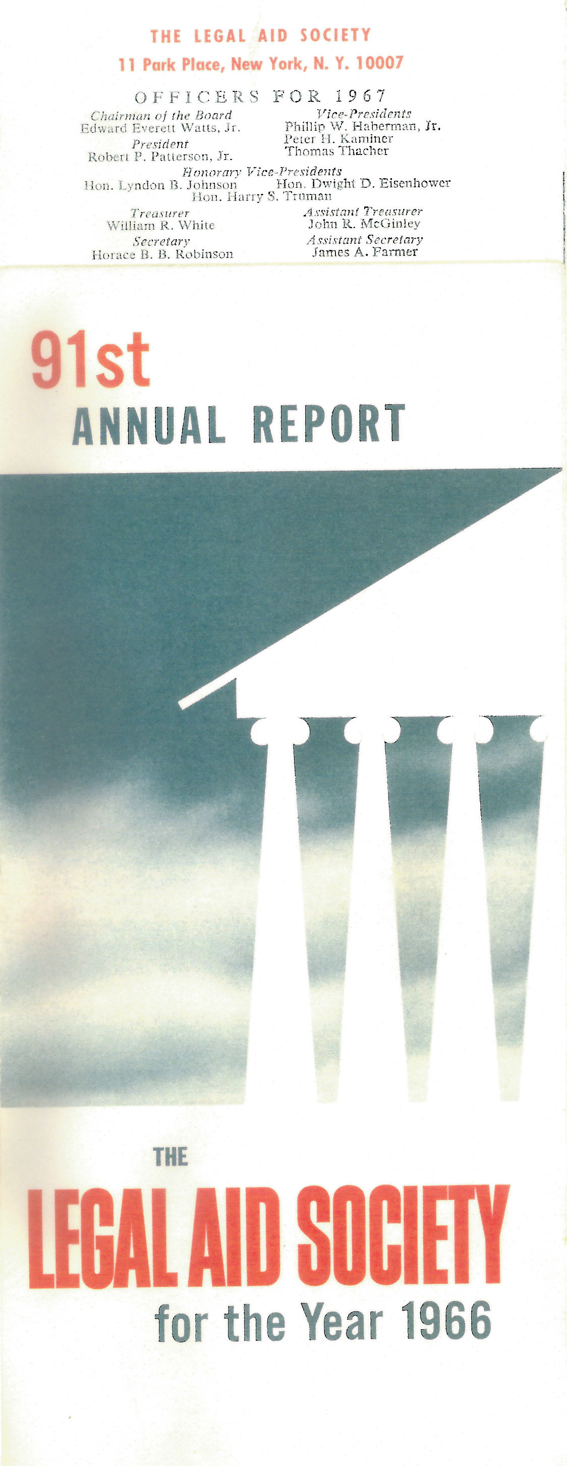 1966_91st-annual-report-cover